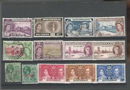 54867 ) Collection Montserrat King Queen War Stamp - Montserrat