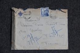 Lettre D'ESPAGNE ( Hotel CARLOS à TOLEDO) Vers FRANCE - 1931-Hoy: 2ª República - ... Juan Carlos I
