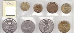 Macau - Set Of 8 Coins - Ref08 - Macao
