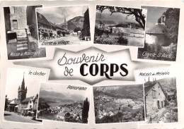 Souvenir De CORPS La Route Napoleon Alt 937m 3(scan Recto-verso) MA456 - Corps
