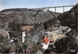 Viaduc De GARABIT Construit Par EIFFEL Ligne De Bezier A Paris La Route National Passe 5 Fois 5(scan Recto-verso) MA460 - France