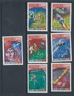 Equatorial Guinea 1973 Copernicus Anniversary Space Set 7 FU - Space