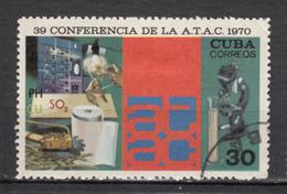 Cuba, Papier, Paper, Scie, Microscope, Chimie, Chemistry, Ampoule électrique, Light Bulb, électricité, Electricity, Atac - Química