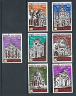 Equatorial Guinea 1974 Church Set 7 FU - Churches & Cathedrals