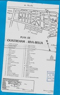 Carte PLAN 14 OUISTREHAM RIVA-BELLA Calvados (cachet Agence De La Mer G.PECAULT) - Non Classés