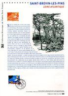 """"""" SAINT-BREVIN-LES-PINS """" Sur Document Philatélique Officiel De 2016.  N° YT 5047. Parfait état DPO - Documents De La Poste"""