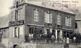 76 GANCOURT-SAINT-ETIENNE (335 Hab.) - Maison L. MOULIN - Gérant G. DUBOSC Café Du Progrès, Epicerie, Etc. - Très Animée - France