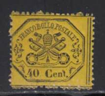 Etats Pontificaux 1868 Yvert 24 ** TB - Etats Pontificaux