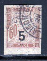 Indochine Taxe 1904 Yvert 1 (o) B Oblitere(s) - Impuestos