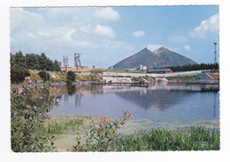 La Mine En Activité N°9 Paysage Minier Crassiers Mais Où ? Dans Le Sud ? Lauriers Roses - A Identifier