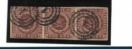 DK1Mi.Nr. 1 / Dänemark 1853, Michel N. 1 Ia, Facit 2 III B, III. Auflage (Thiele II) - Gebraucht