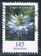 2018 Dauerserie Blumen  (Jungfer Im Grünen) - Oblitérés
