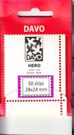 BANDE PREDECOUPEE DAVO N 28x24 . - Bandes Cristal