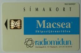 ICELAND - Chip - Simakort - Radiomidun - Coca Cola - ICE-RA-06 - 3000ex - Mint - Iceland
