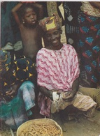 CARTE POSTALE DE RWANDA - FEMMES AU MARCHÉ - - Rwanda