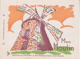 MON MOULIN - MEUNIER TU DORS - Partitions Musicales Anciennes