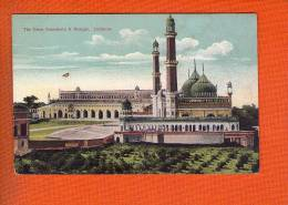 1 Cpa Inde -- LUCKNOW -- The Great Emambara And Mosque - India