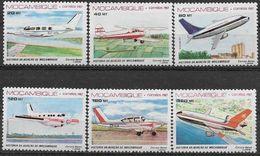 1987 MOZAMBIQUE PA 46-51** Histoire De L'aviation - Mozambique