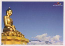 Postcard Bhutan Buddha Thimpu - Bhutan