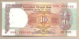 India  - Banconota Non Circolata FdS Da 10 Rupie P-88c - 1997 - India