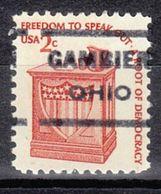 USA Precancel Vorausentwertung Preo, Locals Ohio, Gambier 621 - Vereinigte Staaten
