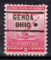 USA Precancel Vorausentwertung Preo, Locals Ohio, Genoa 729 - Vereinigte Staaten