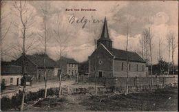 ! Alte Ansichtskarte Kerk Van Brouckom, Broekom, Borgloon, Belgien, Feldpost Nach Mecklenburg - Borgloon