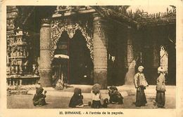 P-18-T-287 : BIRMANIE. PAGODE - Myanmar (Burma)