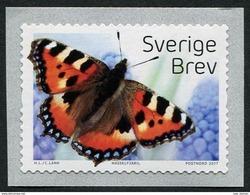 Sweden 2017 Butterflies 1v MNH - Schmetterlinge