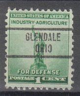 USA Precancel Vorausentwertung Preo, Locals Ohio, Glendale 734 - Vereinigte Staaten
