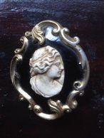 1800 BROOCHE LAVA - Come Da Foto - Bronzen