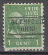 USA Precancel Vorausentwertung Preo, Locals Ohio, Glenford 729 - Vereinigte Staaten