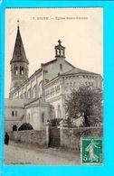 Cpa Cartes Postales Ancienne - Brive Eglise Saint Cernin - Brive La Gaillarde