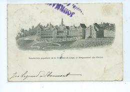 Sanatorium Populaire De La Province De Liège à BORGOUMONT (La Gleize) - Stoumont