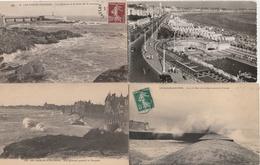 18 / 2 / 334  -  LOT  DE  6  CPA  &  2  CPSM  DES  SABLES  D'OLONNE  ( 85 )  Toutes Scanées - Cartes Postales