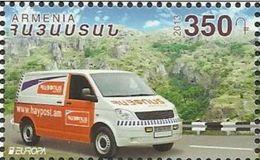 AR 2013- EUROPA CEPT, ARMENIA, 1 X 1v, MNH - Autos