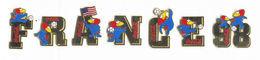 7 Original 1998 FIFA Soccer/Football WORLD CUP COCA-COLA FRANCE 98 PIN SET FOOTIX MASCOT - Football