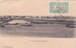 Cpa Djibouti - Vue Générale - Cad 1913 Côtes Françaises Des Somalis - Djibouti