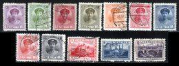 Luxembourg 1921 Yvert 121 / 125 - 127 - 130 / 134 (o) B Oblitere(s) - 1914-24 Marie-Adélaïde