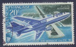 Polynésie PA 74 DC 10 (1973) Oblitéré - Oblitérés