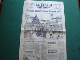 LE CANARD ENCHAINE MAI 68 - 1950 à Nos Jours