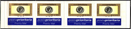 ITALIA - 2002 - POSTA PRIORITARIA - 4 FRANCOBOLLI DA 0,62 CENT - BOOKLET - NUOVI AUTOADESIVO - 2001-10: Mint/hinged