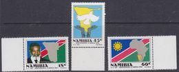 Namibia 1990 Independence 3v ** Mnh (37648) - Namibië (1990- ...)