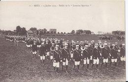 METZ -14 Juillet 1919 - Défilé De La LORRAINE SPORTIVE - Metz