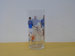 "Verre ""EQUIPE DE FRANCE FOOTBALL"" Coca Cola - Mac Donald. Modèle 2 - Mugs & Glasses"