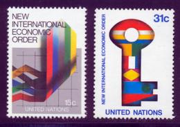 NU (New York) 1980 Yvert 308 / 309 ** TB - Nuovi