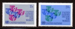 NU (New York) 1980 Yvert 310 / 311 ** TB - Nuovi