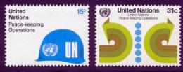 NU (New York) 1980 Yvert 312 / 313 ** TB - Nuovi