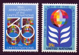 NU (New York) 1980 Yvert 314 / 315 ** TB - Nuovi