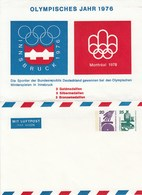 B PS 5**   XXI. Olympische Spiele Montral 1976 Insbruck 1976 - Montral 1976 - Berlin (West)